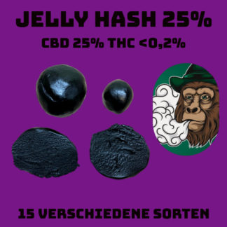 Jelly hash 25% CBD