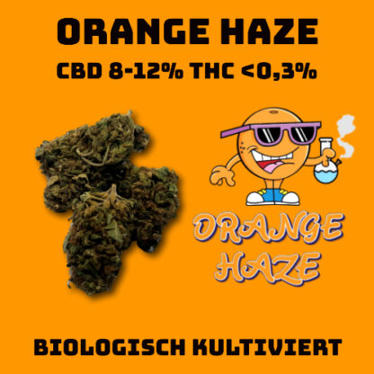 CBD Blüten Orange Haze