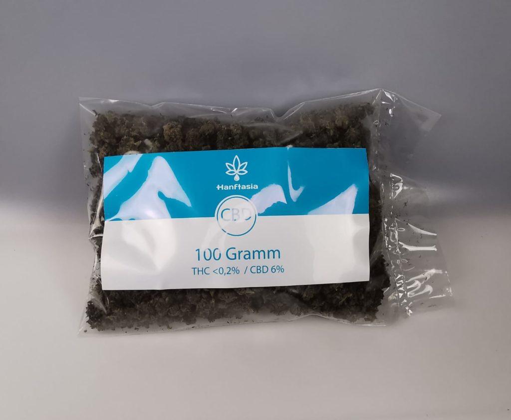 CBD Blüten 100 Gramm